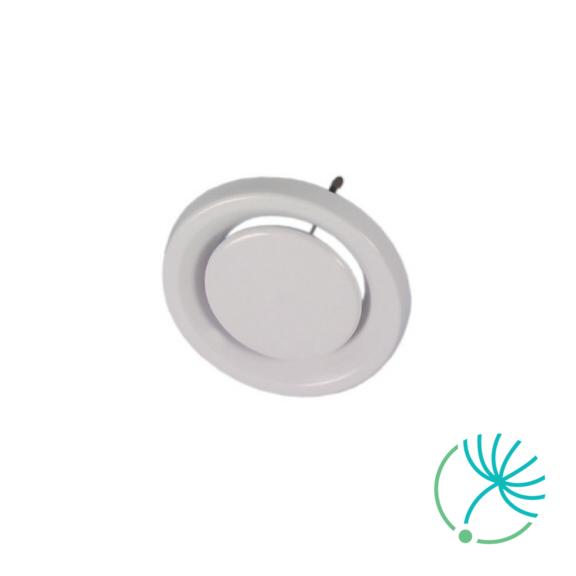 připojte regulační ventil tahu