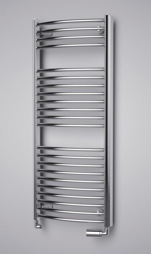 ISAN Spira Radius vodní koupelnový radiátor