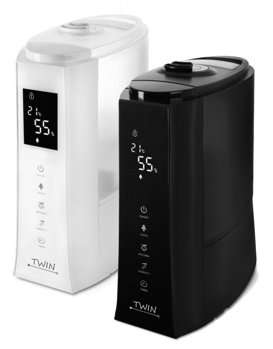 Airbi TWIN ultrazvukový zvlhčovač vzduchu, Bílá