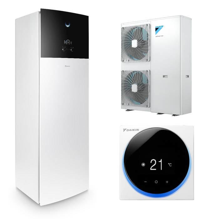Tepelné čerpadlo Daikin Altherma 3 11kW EAVZ16S18D6V + EPGA11DV - jen vytápění, dvě teplotní zóny