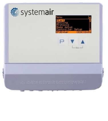 Systemair CXE/AVC Modbus univerzální regulátor