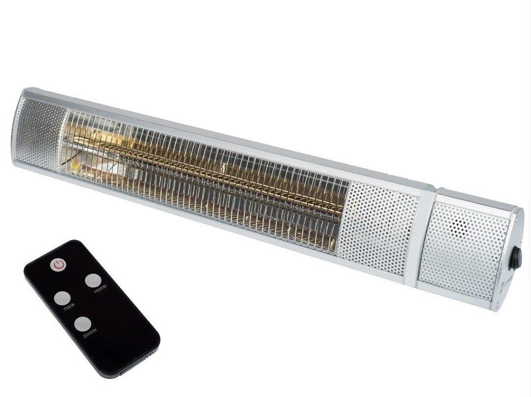 Soleado Elektrik 65435KW20 IP 55 - 2 kW infrazářič s dálkovým ovladačem