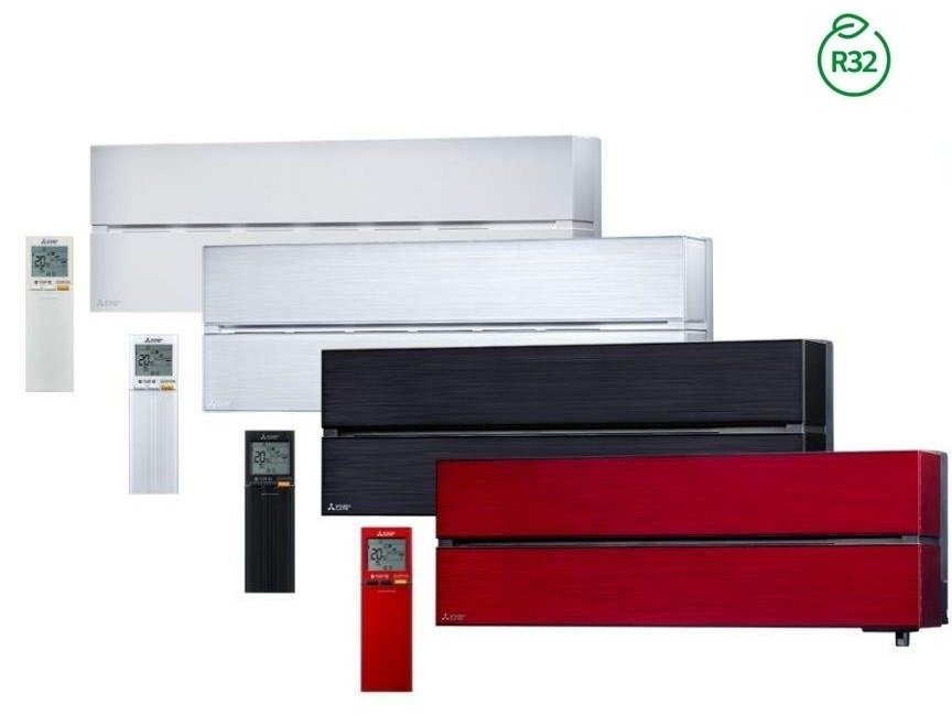 Nástěnná klimatizace Mitsubishi Diamond MSZ-LN60VG (W, V, B, R) + MUZ-LN60VG, Přírodní bílá