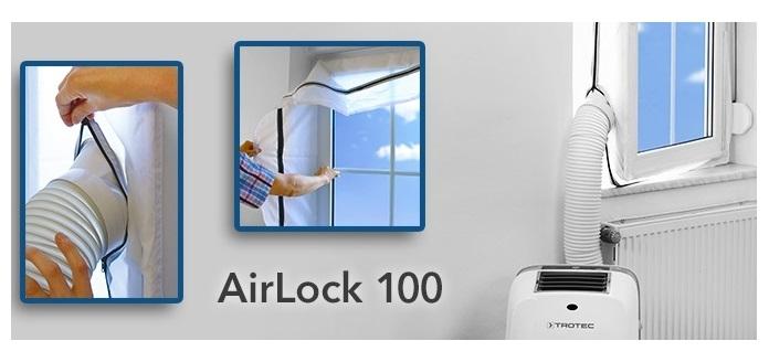 Trotec Airlock 100 těsnění oken