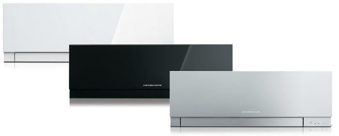 Nástěnná klimatizace Mitsubishi Kirigamine Zen MSZ-EF25VG (W, B, S) + MUZ-EF25VG, Bílá