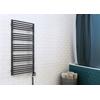 TERMA Alex designový radiátor 1580x600 RAL3020 detail