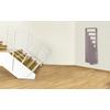 TERMA Angus V designový radiátor 1140x360 RAL5015 detail háčky ZIP