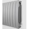 TERMA Camber vodní radiátor pod okno 575x800 barva Sal&Pepper - z boku