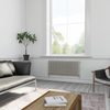 TERMA Delfin designový radiátor pod okno 545x1050 RAL 5014