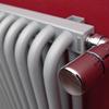 TERMA Delfin designový radiátor pod okno barva Chrome effect detail1
