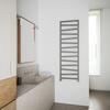 TERMA Zigzag koupelnový radiátor 1545x500 barva Metallic Stone - inspirace