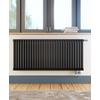 TERMA Delfin designový radiátor pod okno 545x1050 Soft white