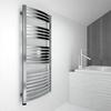 TERMA Dexter One koupelnový radiátor 860x400 Chrome