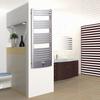 TERMA Dexter Pro koupelnový radiátor 1220x500 barva Chrome effect - v interiéru