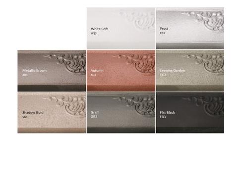 Barvy Terma - litinové radiátory - speciální barevné provedení 1