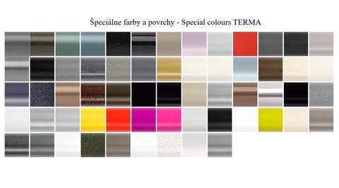 Barvy Terma - speciální barvy - paleta