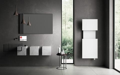 IRSAP M'ama koupelnový radiátor design a funkčnost