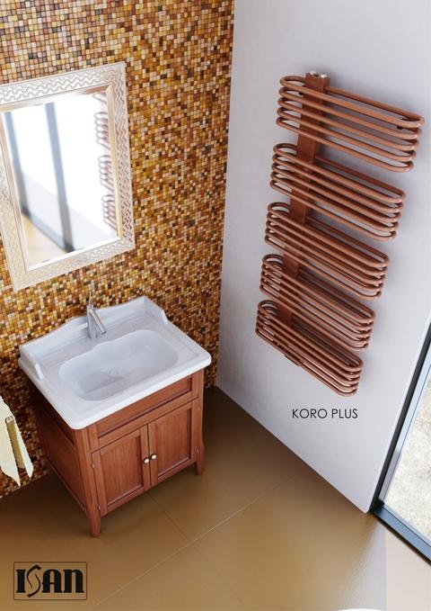 ISAN Koro PLUS koupelnový radiátor