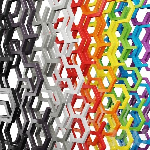 Barvy Terma - radiátory HEX