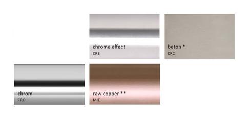 Barvy Terma - speciální barvy a povrchy - Chrom, Měď, Beton