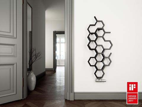 Barvy Terma - designový radiátor Hex