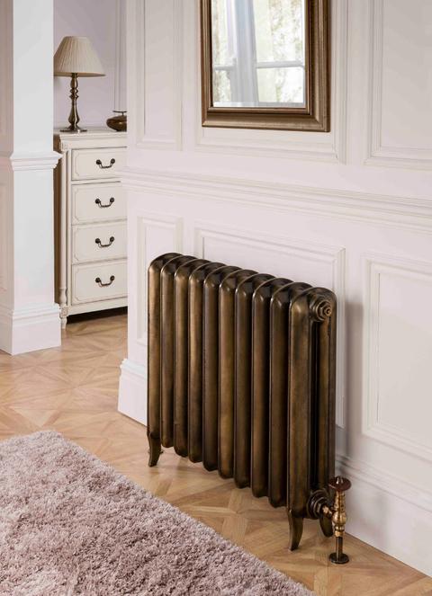 Barvy Terma - liainové radiátoru - Plain - barva Antique Brass
