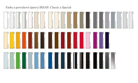 Barvy Irsap - Barvy Classic a Special