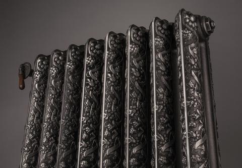 Barvy Therma - litinové radiátory - Kaszub - detail