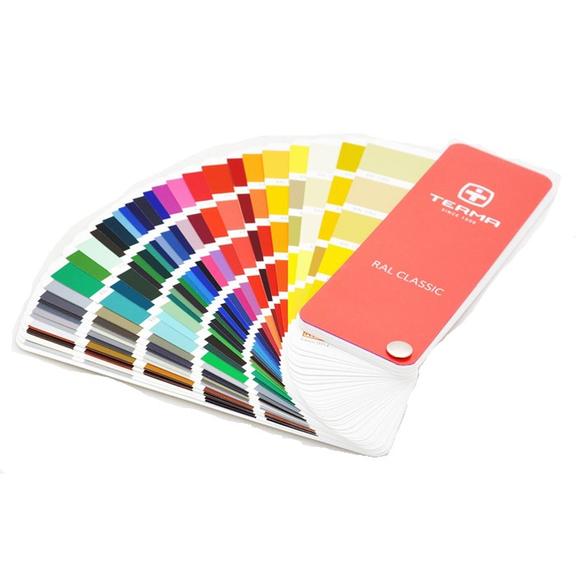 Barvy designových radiátorů