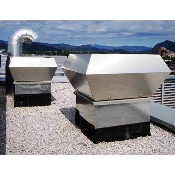 Systemair DVC / DVCI střešní ventilátor - využití