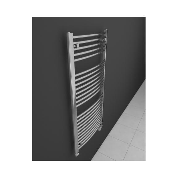 ISAN Palmyra Radius Chrom koupelnový radiátor