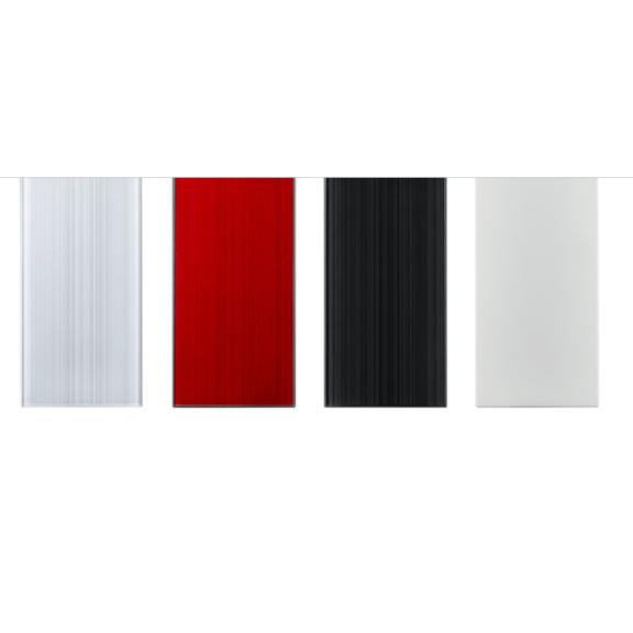 Mitsubishi Diamond vzorník barev - perleťová bílá - rubínová červená - onyxová černá - přírodní bílá