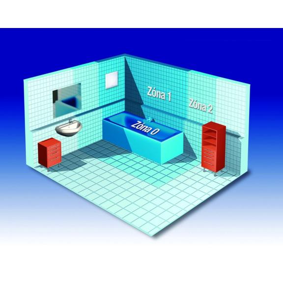 Helios ELS-V 60 jednootáčkový ventilátor bez doběhu - umístění