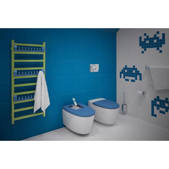 TERMA Simple designový radiátor 1200x500 - moderní koupelna