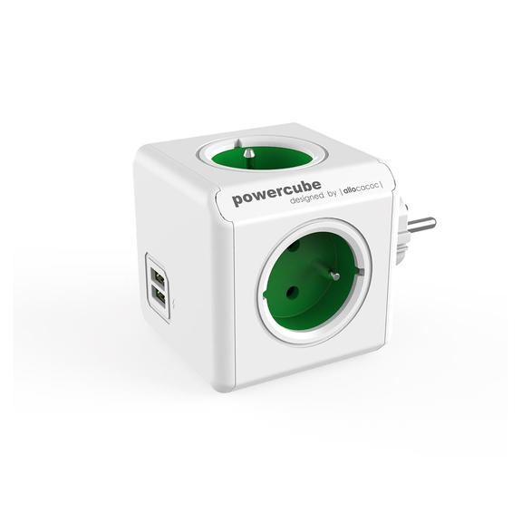 POWERCUBE ORIGINAL USB zelený