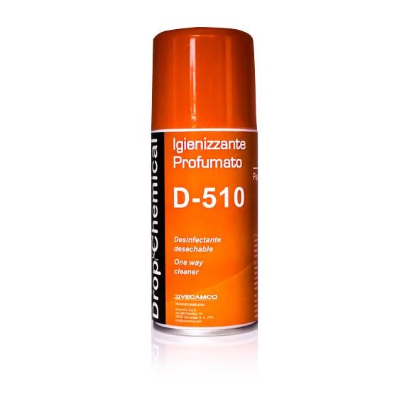 Vecamco D-510 parfémovaný dezinfekční sprej do klimatizace Papaya