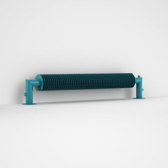 ISAN Spiral RA1-S volně stojící radiátor