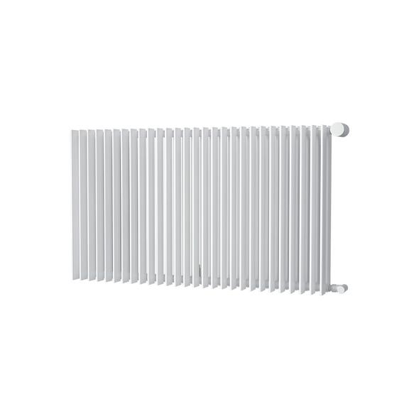 ISAN Antika Double Horizontal radiátor s vysokým výkonem 576x1000 - RAL9016