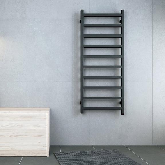 TERMA Simple designový radiátor v moderním interiéru