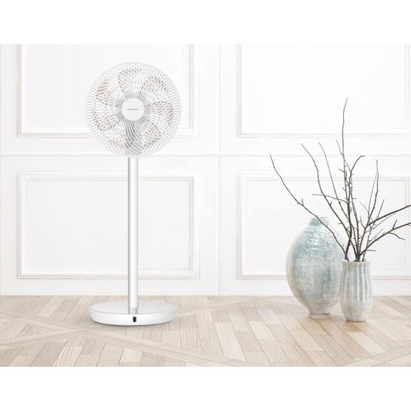 Ventilátor stylu Tukan v interiéru