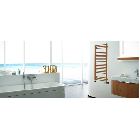 TERMA Bone koupelnový radiátor - inspirace - moderní koupelna