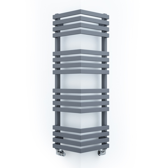 TERMA Outcorner rohový radiátor 1005x300 - barva Modern Grey