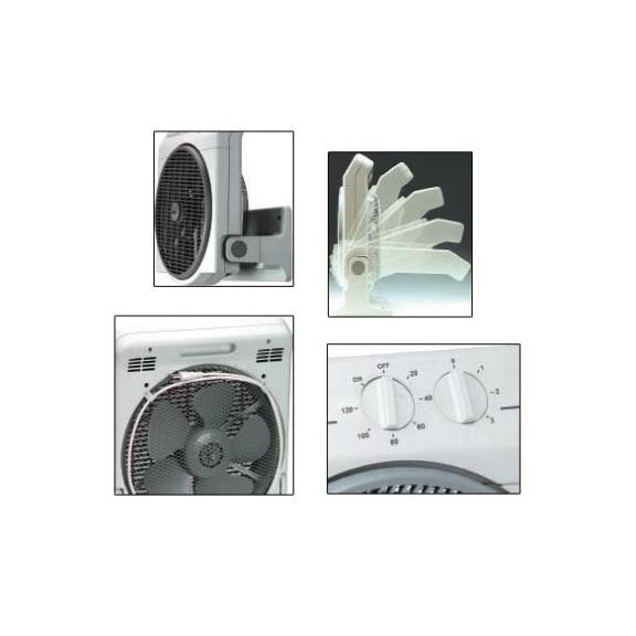 Soler & Palau Meteor NT axiální stolní ventilátor - polohy
