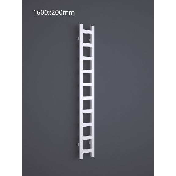 TERMA Easy One vertikální radiátor 1600x200 RAL 9016