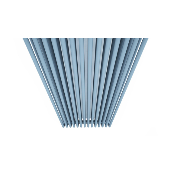 TERMA Delfin designový radiátor vertikální - moderní koupelna