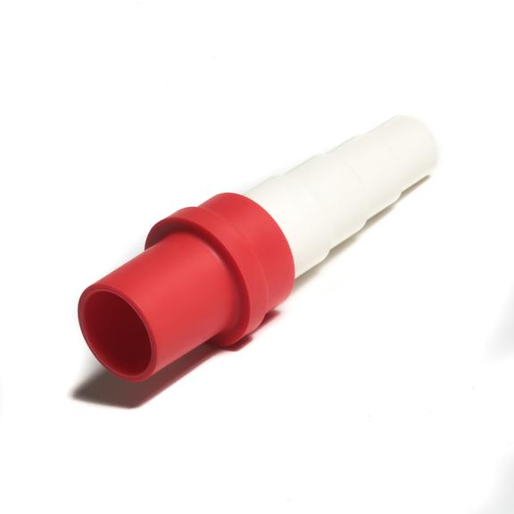 Spojka redukovaná z 18 pro kondenzační hadice 14-20 - červená