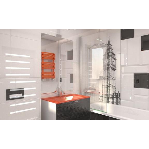 TERMA Kioto One designový radiátor do koupelny