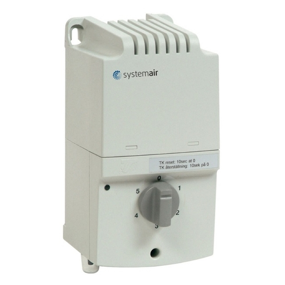 Systemair RTRE 3 regulátor pro kruhové ventilátory