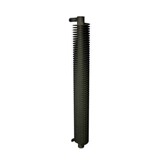 ISAN Spiral RA1 vertikální radiátor - RAL 7013