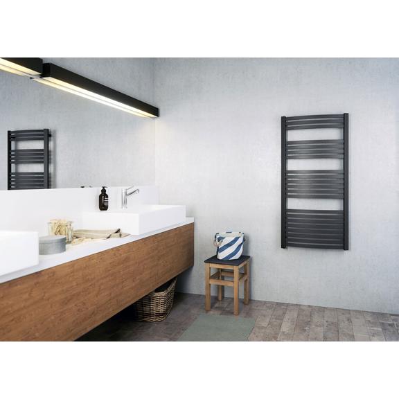 TERMA Dexter One koupelnový radiátor 860x500 Chrome